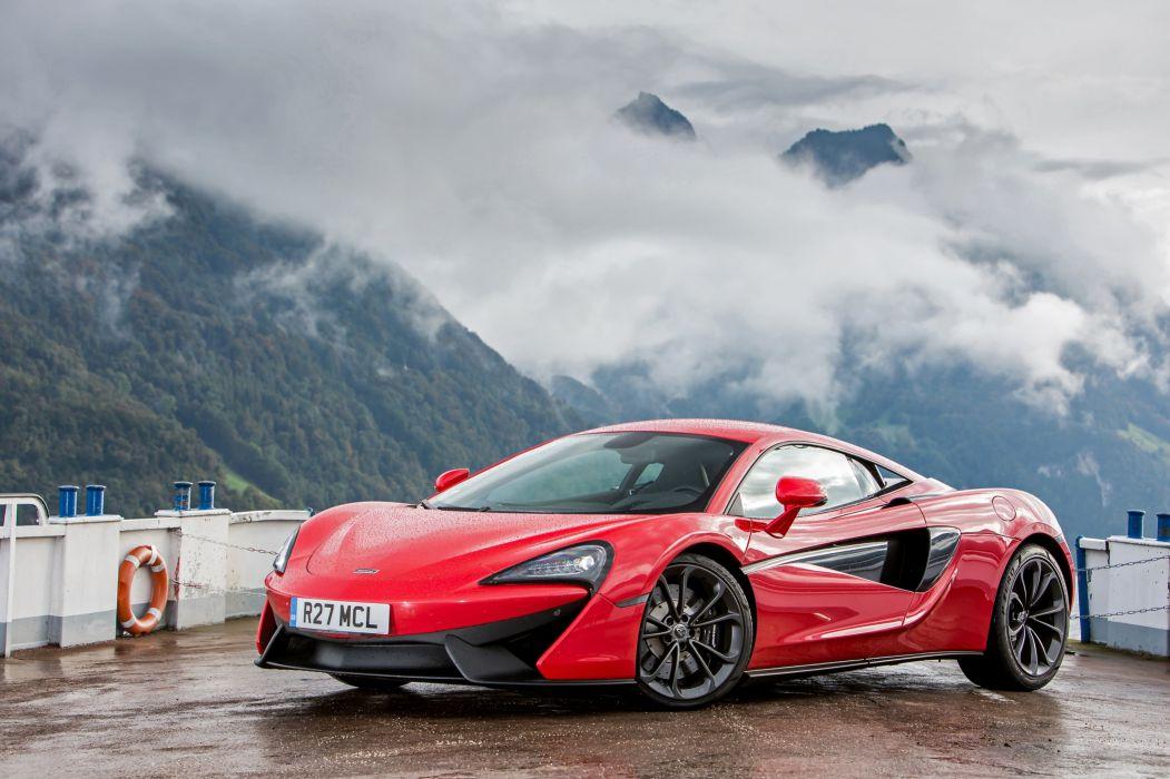 McLaren 2015-16 540C Coupe Red Metallic Luxury wallpaper