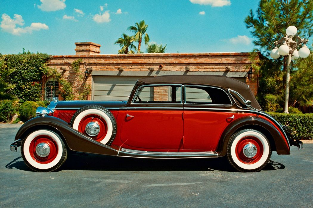Retro Horch 830 BL Cabriolet 1939 wallpaper