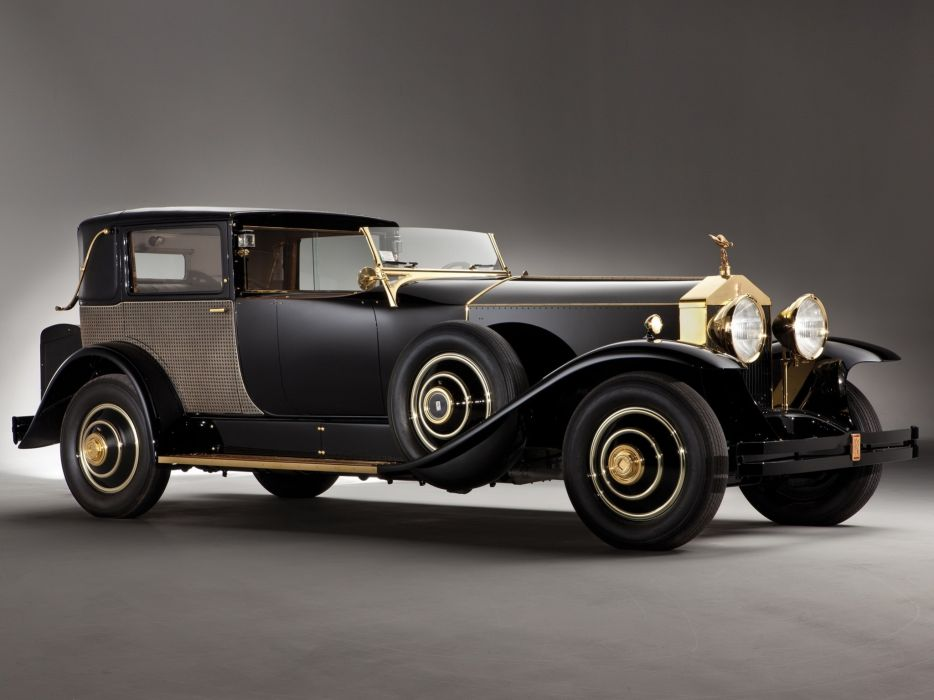 Rolls-Royce phantom 1929 wallpaper