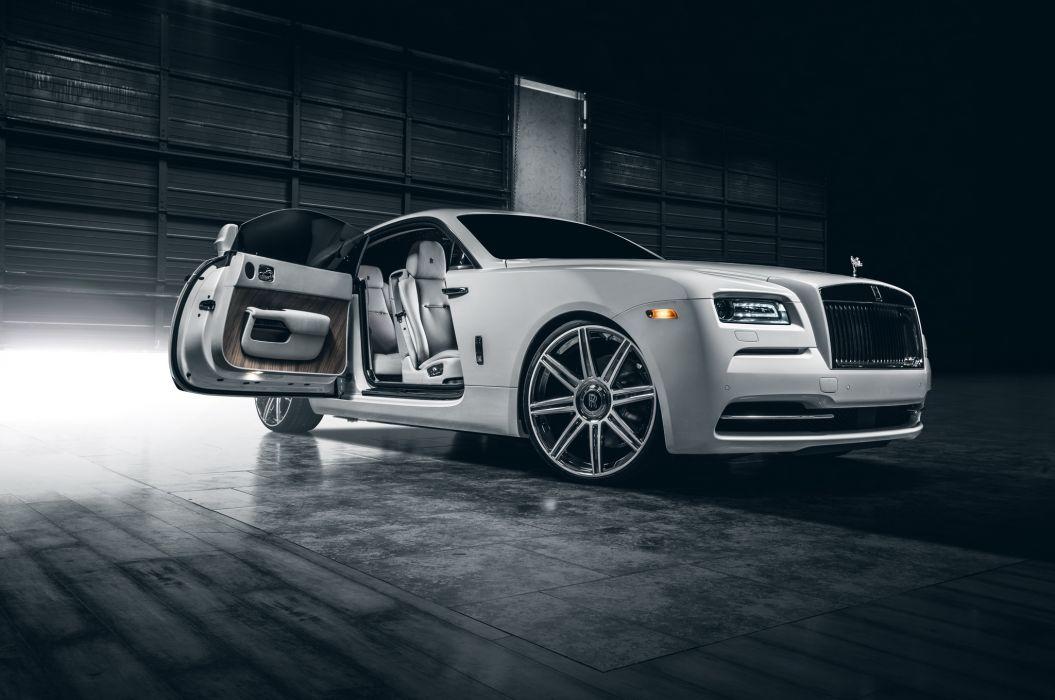 Rolls-Royce Wraith Vellano Premium Class White Luxury Cars wallpaper