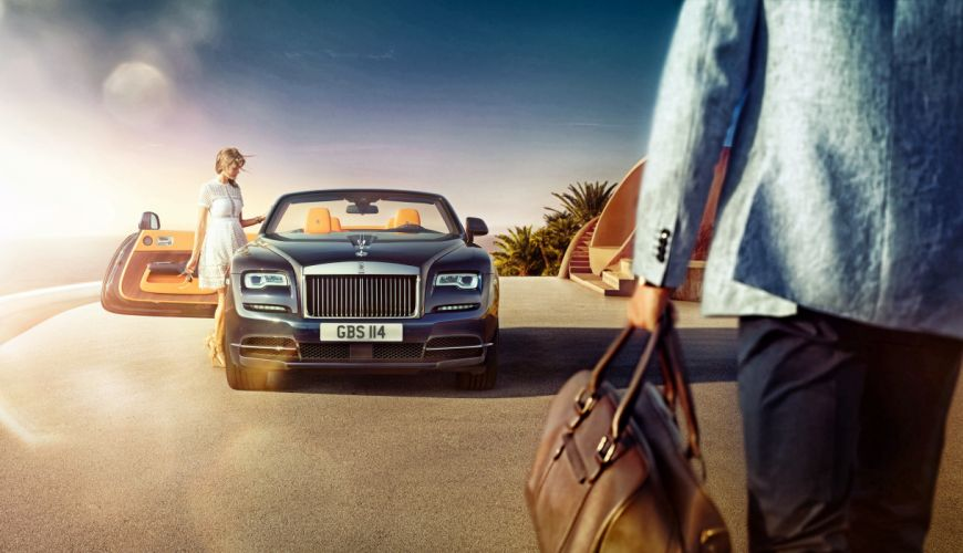 Rolls-Royce 2015 Dawn Luxury Cars Girls wallpaper