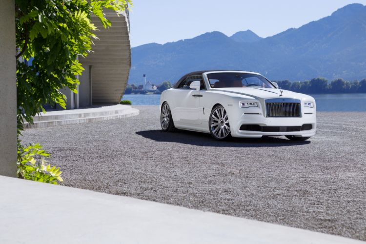Rolls-Royce 2016 Spofec Dawn White Metallic Luxury Cars wallpaper