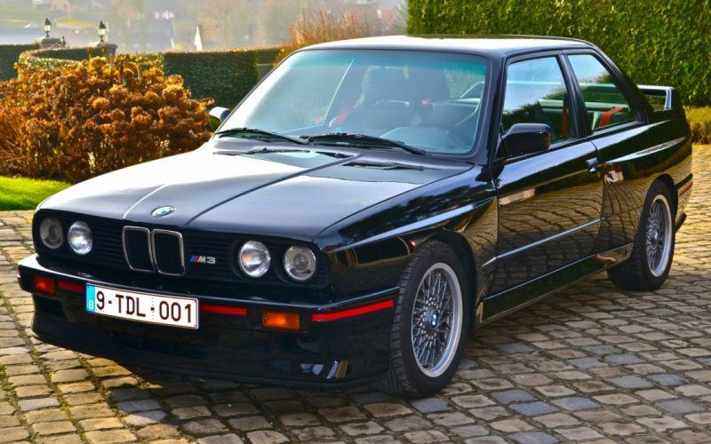 BMW M3 E30 Sport Evolution 1989 wallpaper