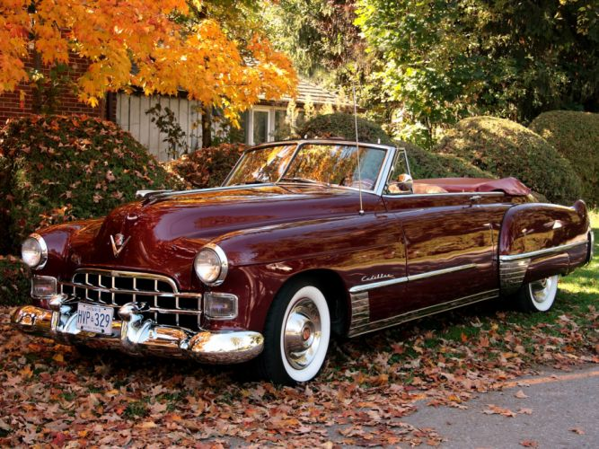 Cadillac Sixty-Two Convertible 1949 wallpaper