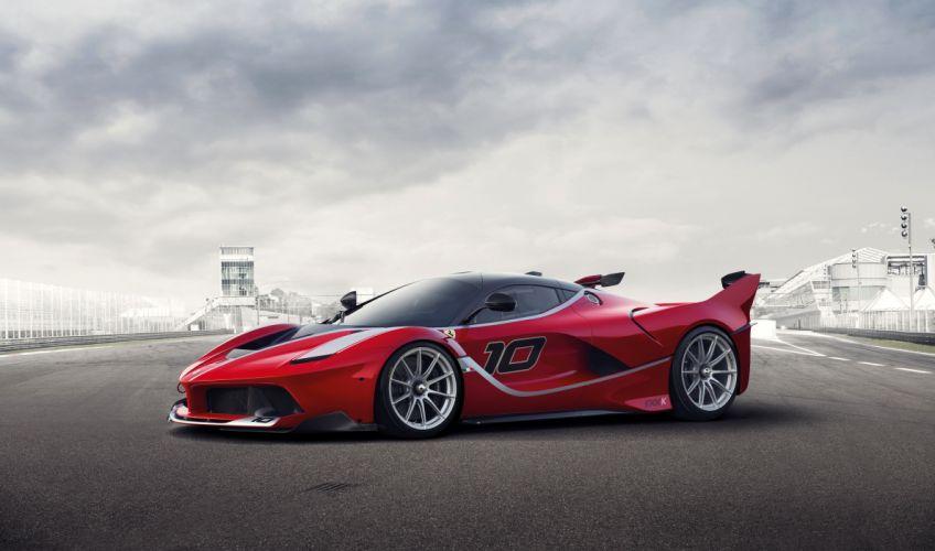 Ferrari Tuning 2014 FXX K Red Cars wallpaper