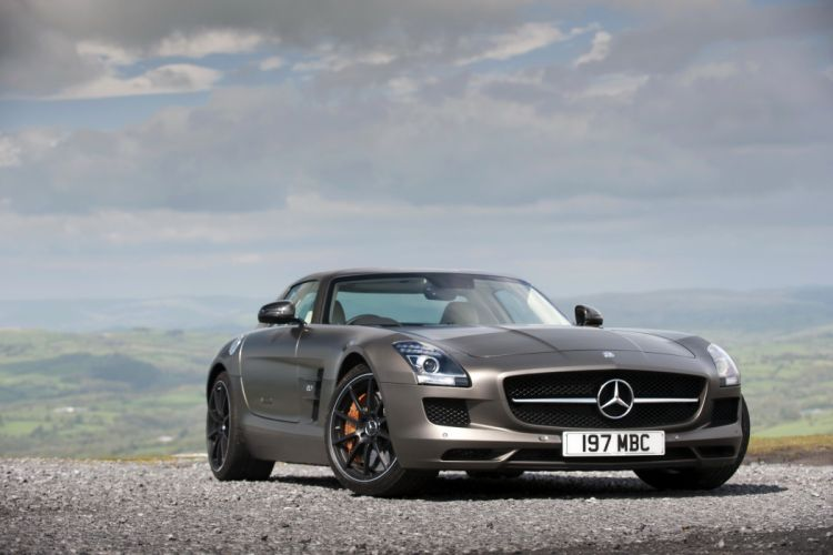 Mercedes-Benz 2013 SLS 63 AMG GT Grey Metallic Cars wallpaper