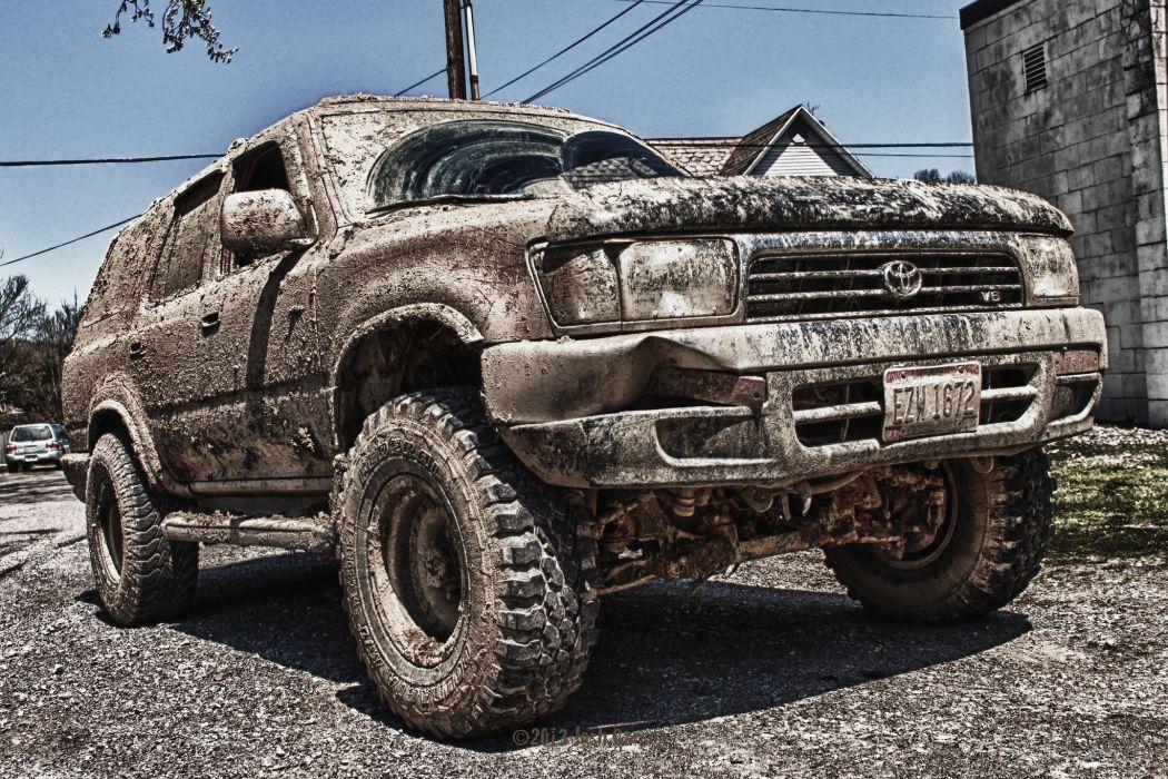 Toyota 4Runner Mud Headlights Cars wallpaper