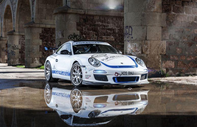 911 Turbo White Cars wallpaper