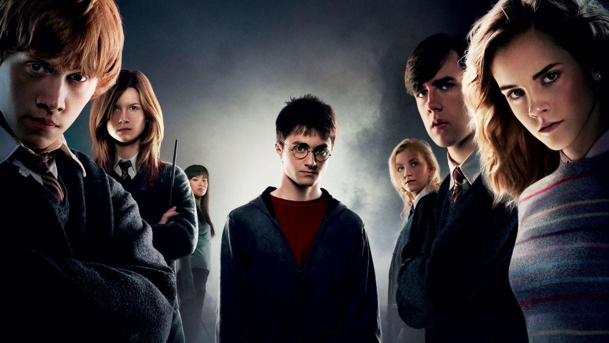 Harry Potter Daniel Radcliffe Emma Watson Rupert Grint Movies wallpaper