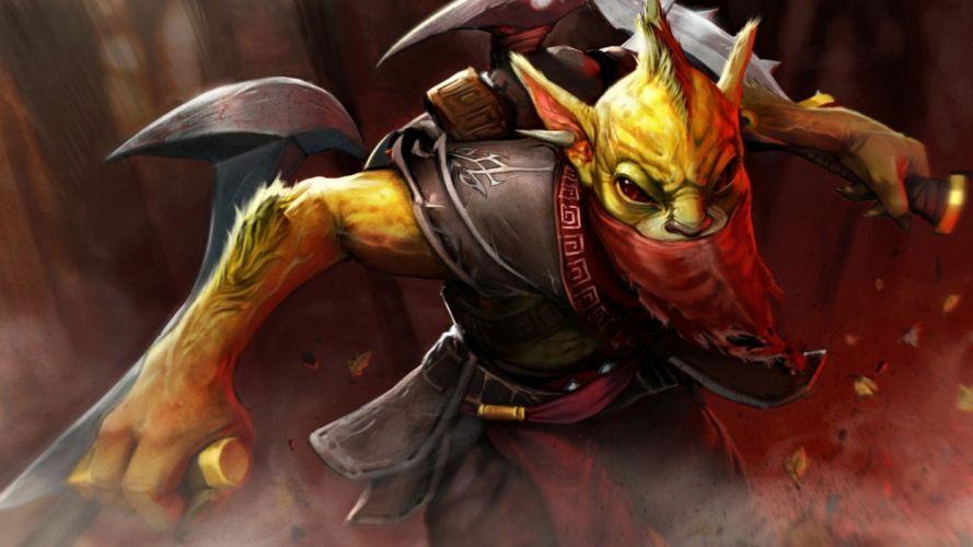DOTA 2 Warriors Bounty Hunter Games wallpaper