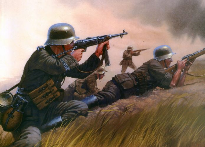 Painting Art Soldiers Army wallpaper