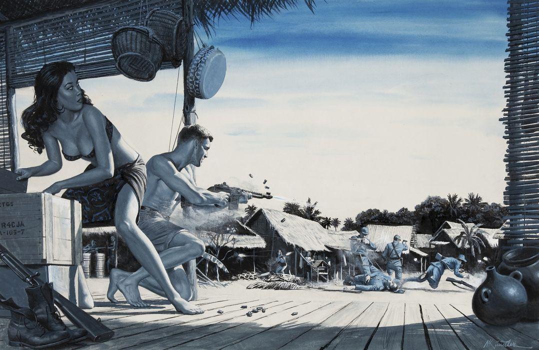 Pictorial Art Mort Kunstler Wallpaper 2788x1813 1097212