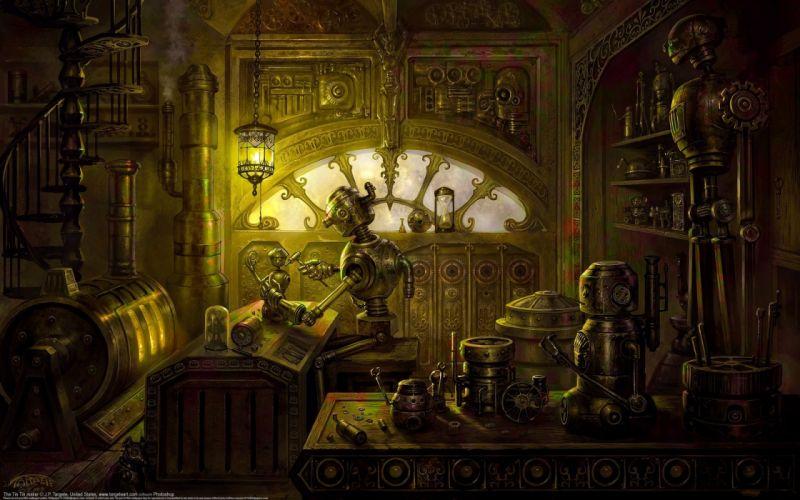 Steampunk Fantasy wallpaper