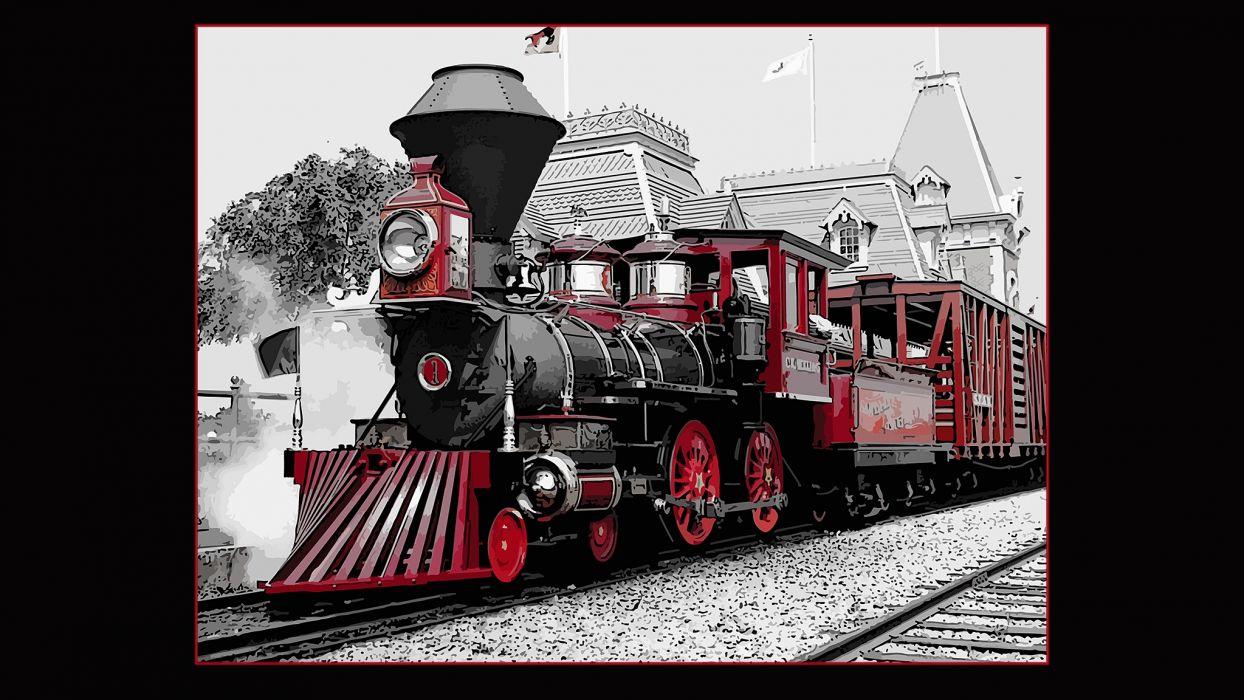red train sp-00-2048x1152 wallpaper
