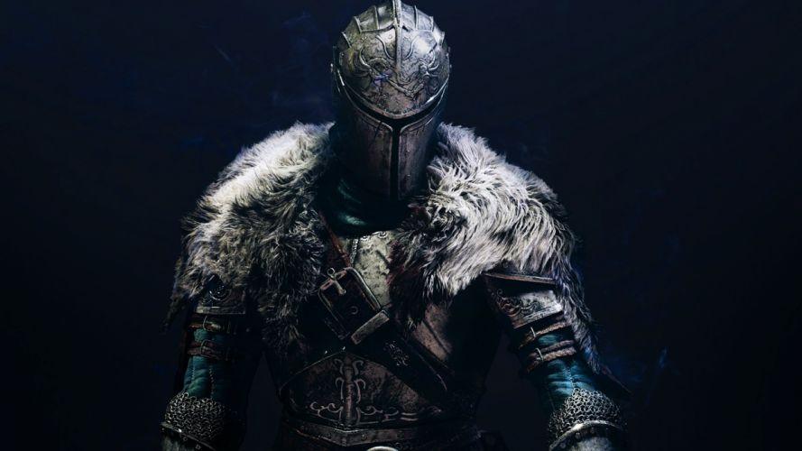 Warriors Dark Souls 2 Helmet Armor Games Fantasy wallpaper