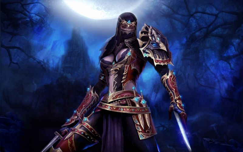 Warriors Armor Fantasy Girls wallpaper