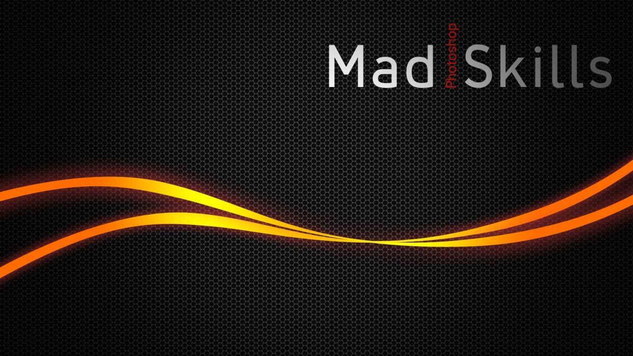 abstracto texto mad skill wallpaper