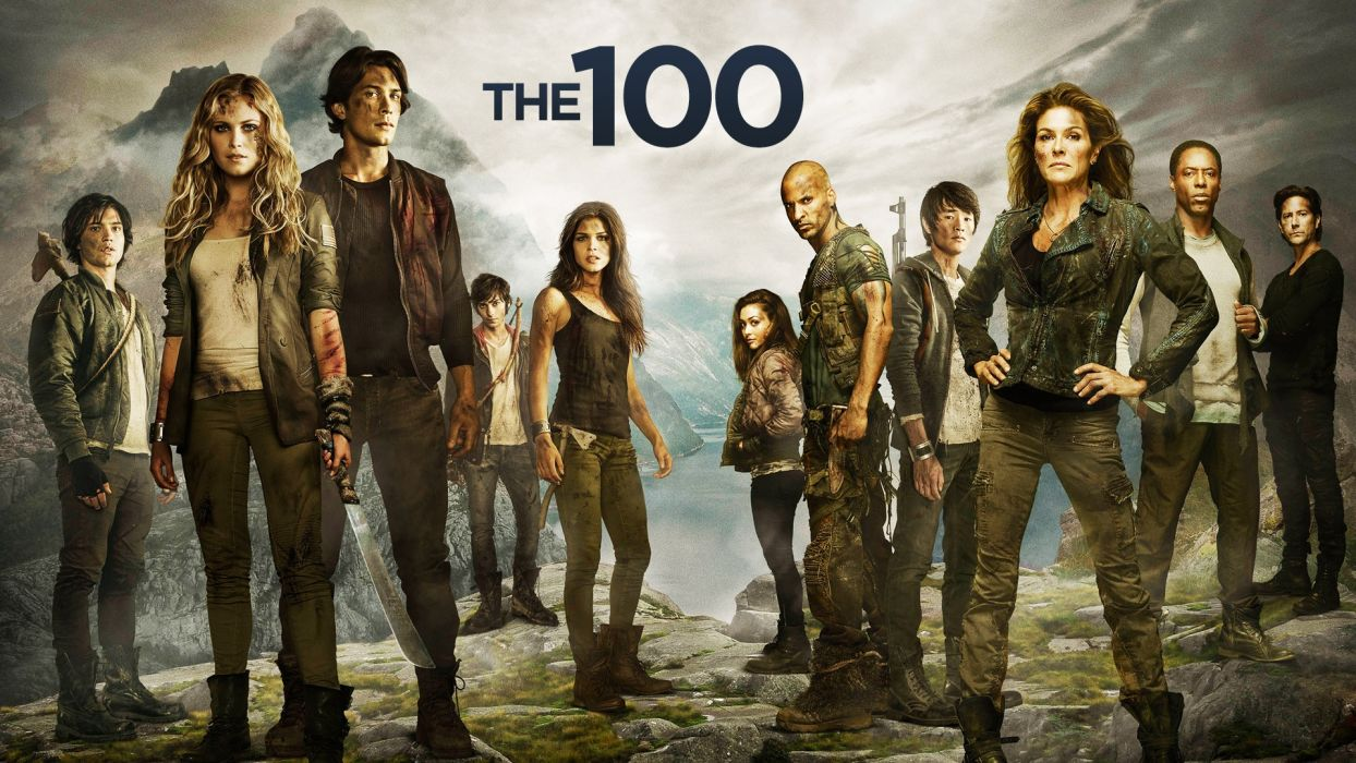 The-100 tv series clarke bellamy octavia finn jasper monty abigail kane jaha wallpaper