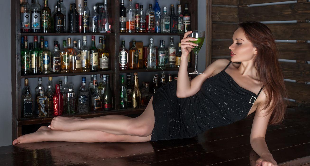 alcohol alcoholic attractive bar beautiful bottle bottles celebrate celebration club cocktail dress drink fashion girl glamour glass glass bottle wallpaper