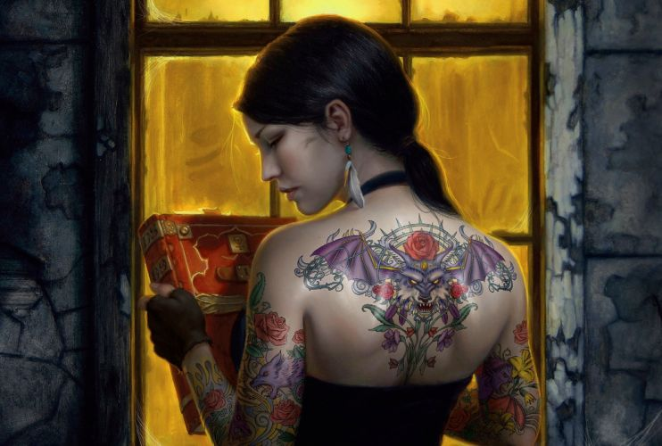 Fantasy Tatto wallpaper