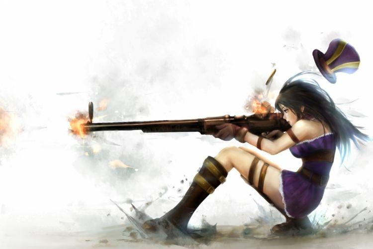 League of Legends Games Girl wallpaper