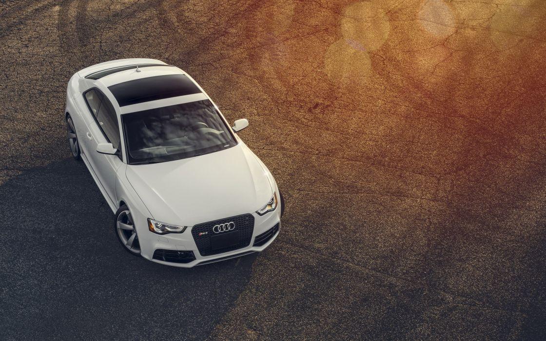 Audi rs5 White Cars wallpaper