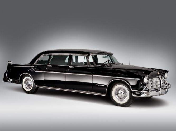 Chrysler Imperial Crown Limousine 1956 Cars wallpaper