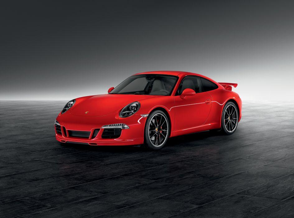 Porsche 2012 911 Carrera Red Cars wallpaper