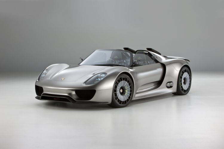 Porsche 918 Spyder Hybrid Luxury Hybrid wallpaper
