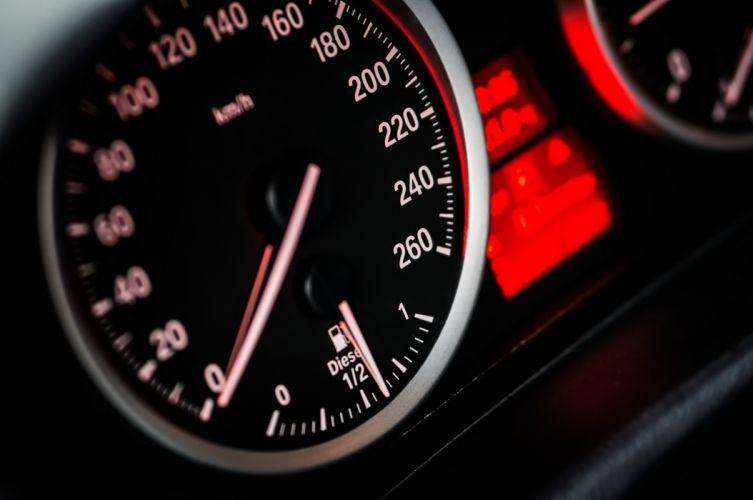 Speedometer Gauge Reading at Zero wallpaper
