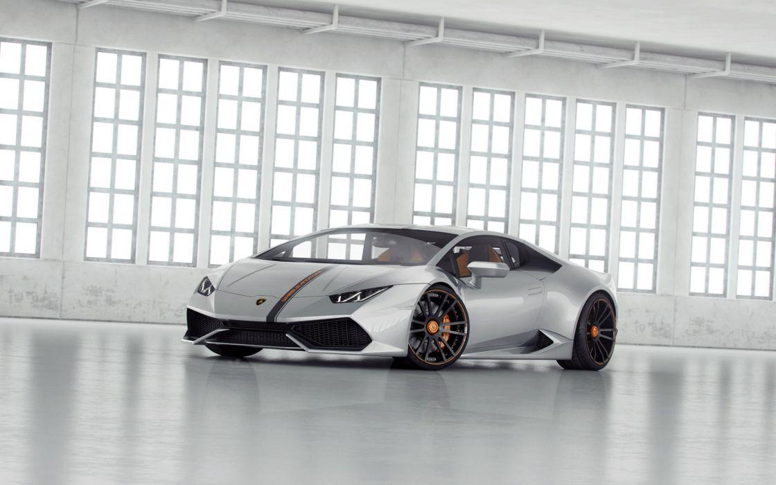 Tuning 2014 Wheelsandmore Lamborghini Huracan LP850-4 Lucifero Silver wallpaper