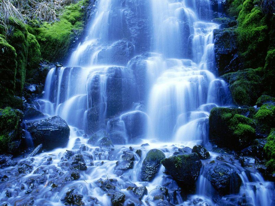 cascada rio naturaleza wallpaper