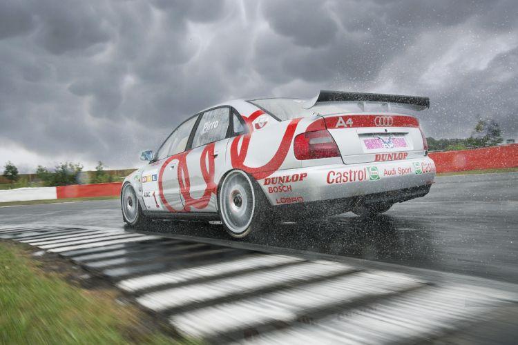 Audi A4 Quattro STW B5-8D BTCC Race Car wallpaper