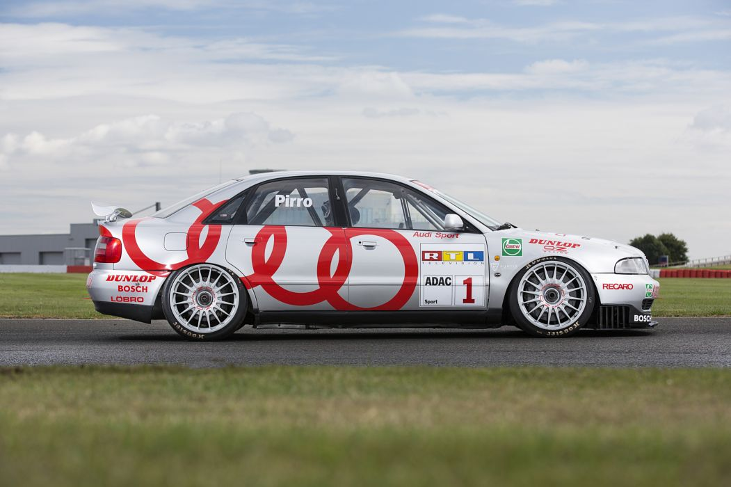 Audi A4 Quattro STW B5-8D BTCC Race Car wallpaper
