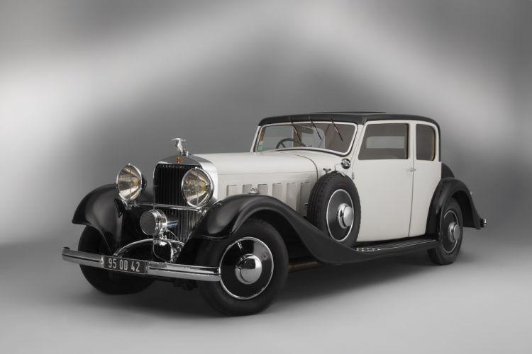 Hispano-Suiza J12 T68 Berline 1934 wallpaper