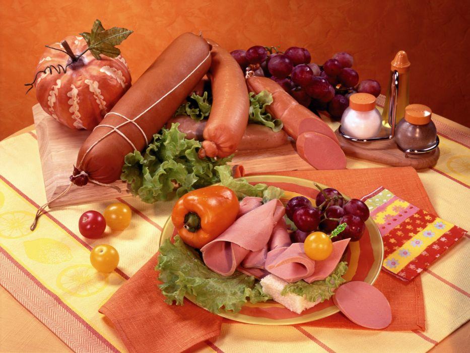 embutidos comidad variedad wallpaper