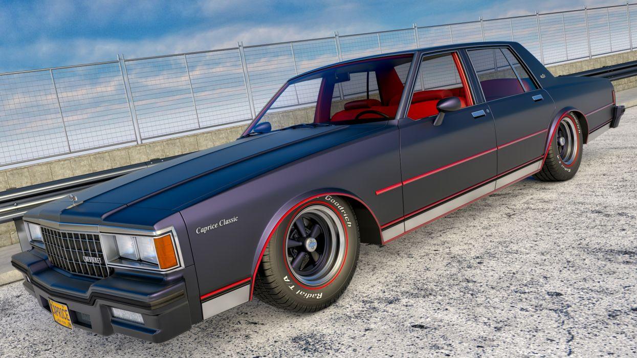 1978 chevrolet caprice sedan wallpaper
