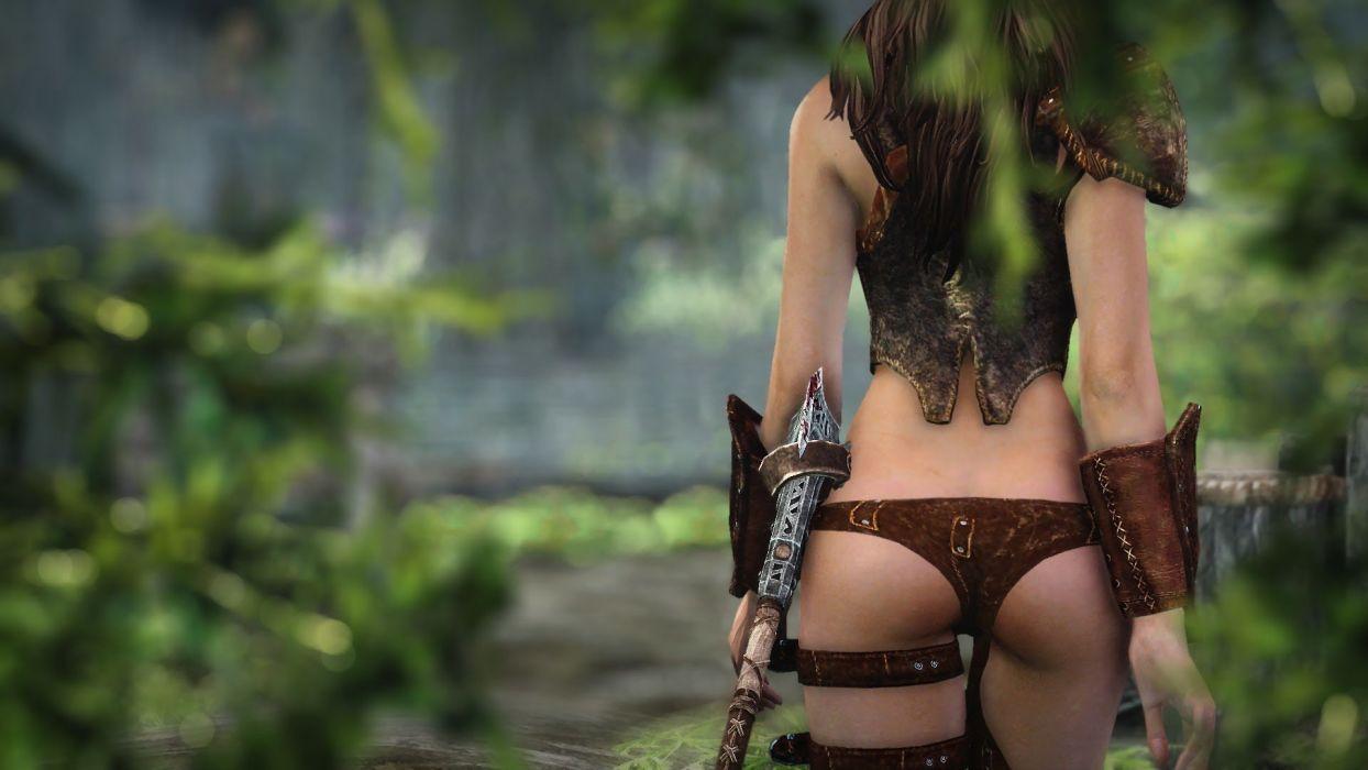 video juego sexi mujer luchas accion wallpaper