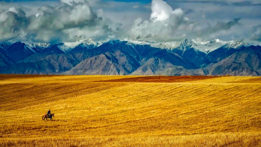 adventure agriculture clouds country countryside dawn daylight fall farm field hdr hill horse landscape meadow mountain peak mountain range mountains nature outdoors rider rural scenic sky summer travel valley wallpaper