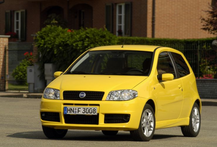 Fiat Punto Sporting 2003 wallpaper