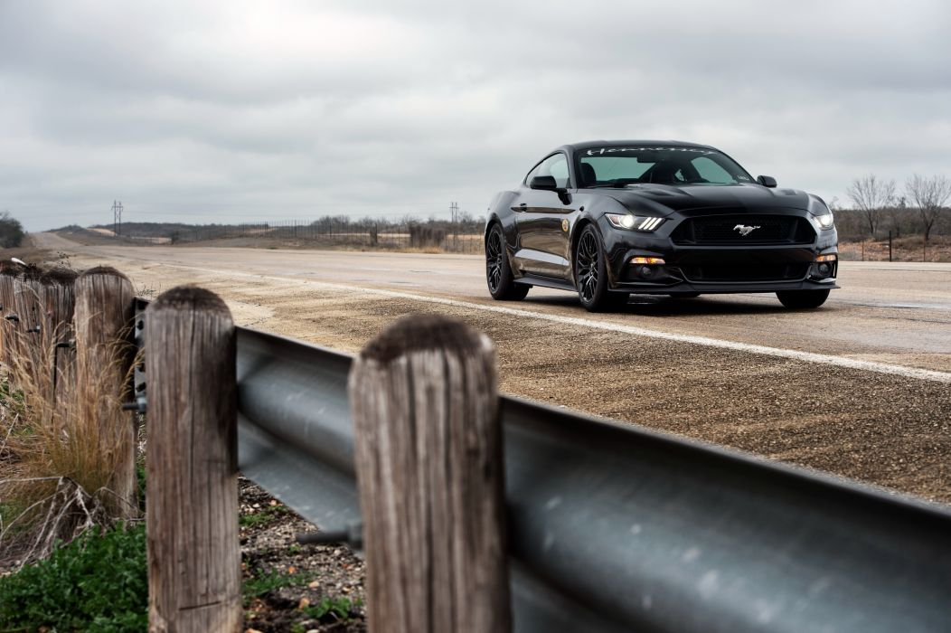 Hennessey Mustang GT HPE700 Supercharged 2015 wallpaper