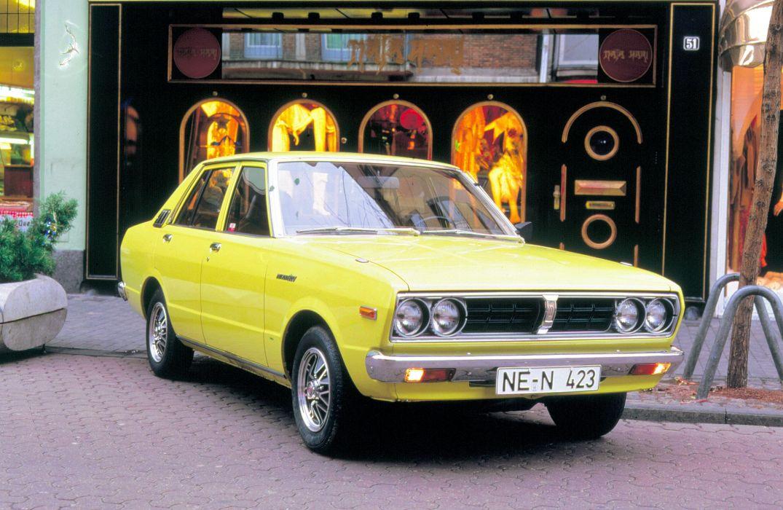 Datsun Violet 160J 1977 wallpaper