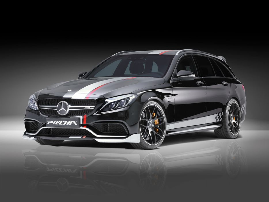 Piecha Design Mercedes-Benz AMG C63 S Estate 2016 wallpaper