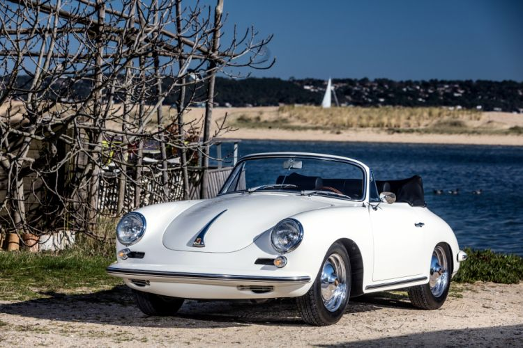 Porsche 356B 2000 GS Carrera 2 Cabriolet 1962 wallpaper