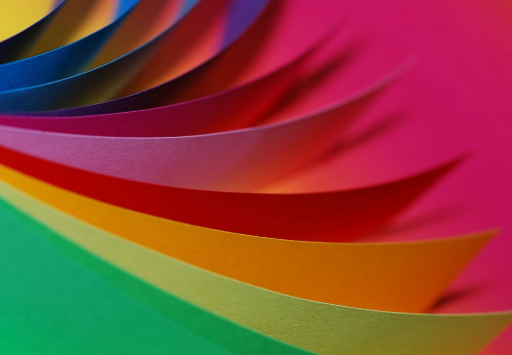 close-up colorful colors colourful colours macro paper red wallpaper