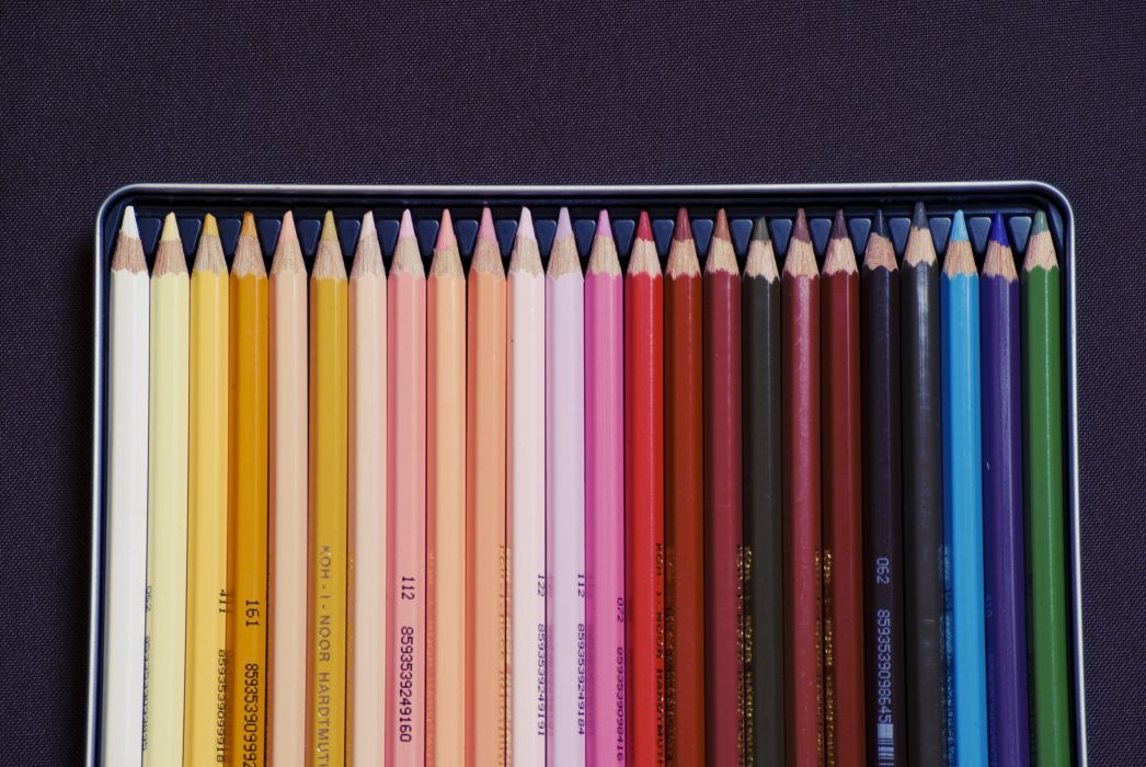 color colored colorful colors coloured colourful crayons creativity pens school wallpaper