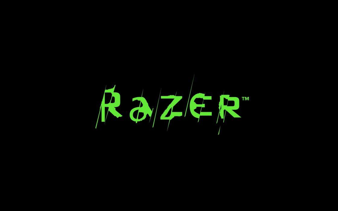 razer logo texto abstracto wallpaper