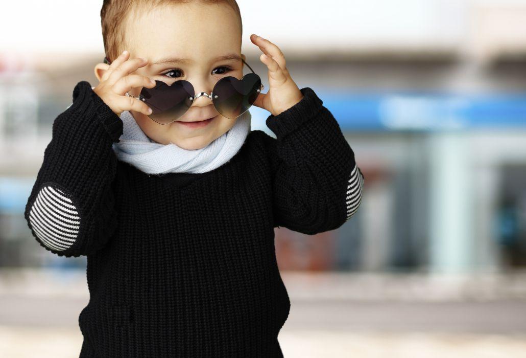 Glasses Heart Sweater Boys Children wallpaper