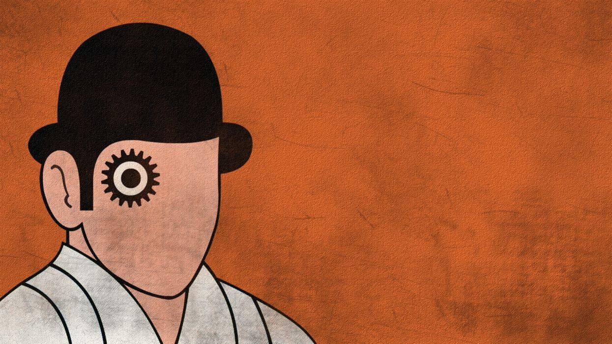 A Clockwork Orange: Grunge wallpaper