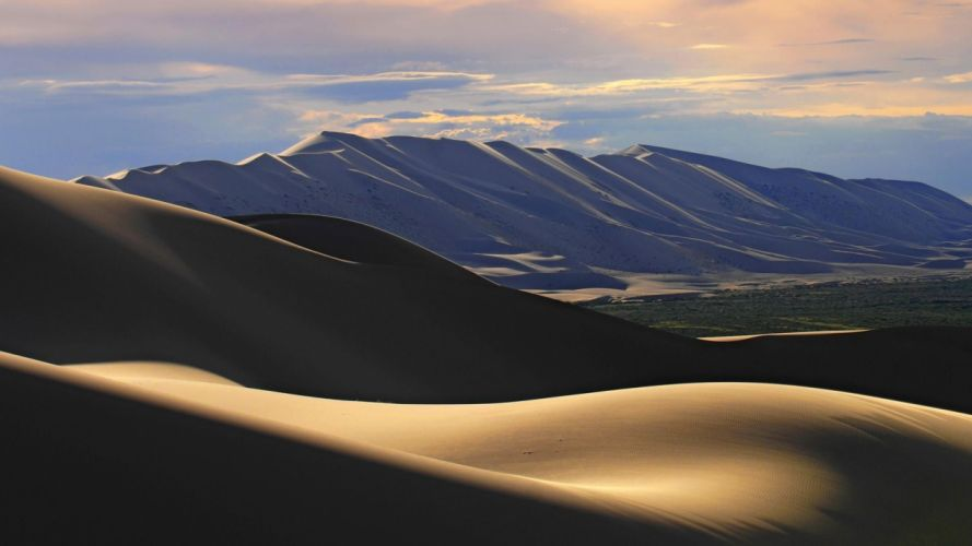Gobi Desert Mongolia arena naturaleza wallpaper